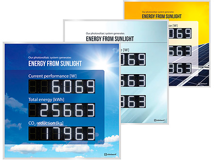 Siebert digital displays for the photovoltaics_XC480